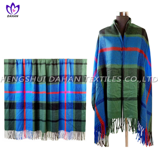100%acrylic tassels scarf, blanket. BK22