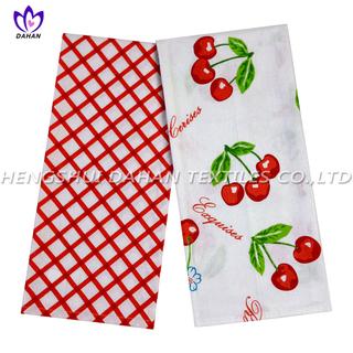 PR27 100%cotton printing tea towel,kitchen towel,2pack.