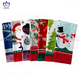 CT56 Printing cotton towel-christmas series.