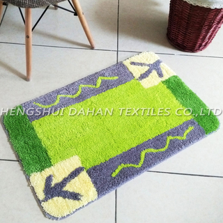 Super soft jacquard ground mat. FC-302