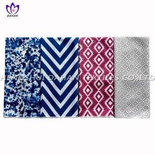 17313 Microfiber plain colour/printing kitchen towel 3pack.