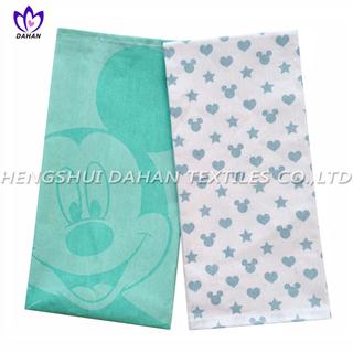 PR16 100%cotton printing tea towel,kitchen towel.