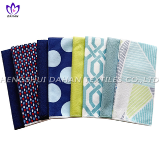 COMB Microfiber plain colour/printing kitchen towel 2piece.