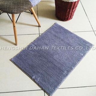 Plain colour filamentary silver ground mat. FC-102