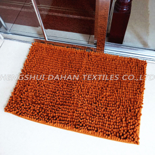 100%polyester chenille ground mat. DHMT