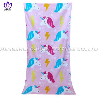 LL93 100%cotton reactive printing beach towel
