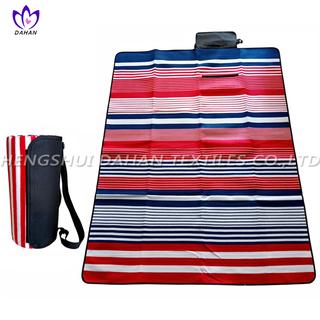 Picnic blanket waterproof picnic mat with printing.PM19