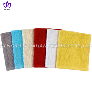 252CR 100%cotton plain colour kitchen towel.