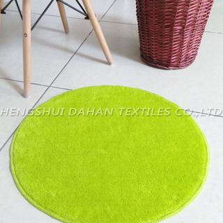 Plain colour ground mat-roundness. FC-201