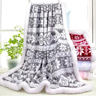 MT26 Christmas Series Printed Flannel Blanket.