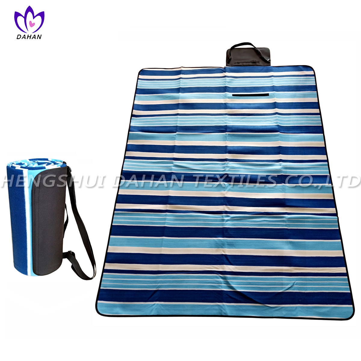 Picnic blanket waterproof picnic mat with printing.PM20