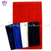 CT23 100% cotton solid color golf towel with metal pothook.