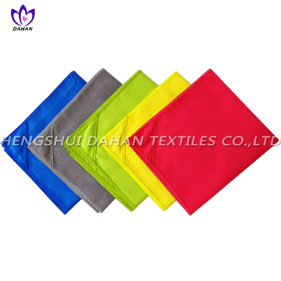 MS28 polyester pure color microfiber LED suede towel