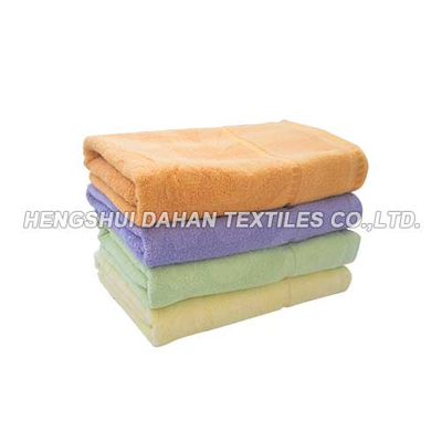 100%cotton solid color dobby bath towel BT07
