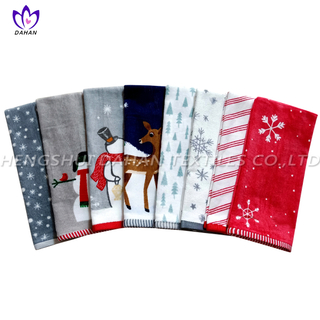 CT55 Printing cotton towel-christmas series.