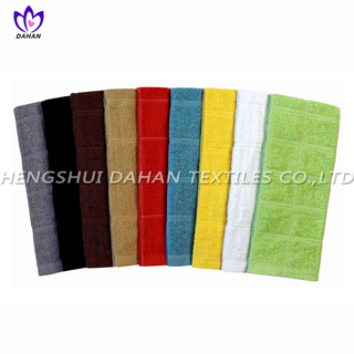 407 100%cotton plain colour kitchen towel.