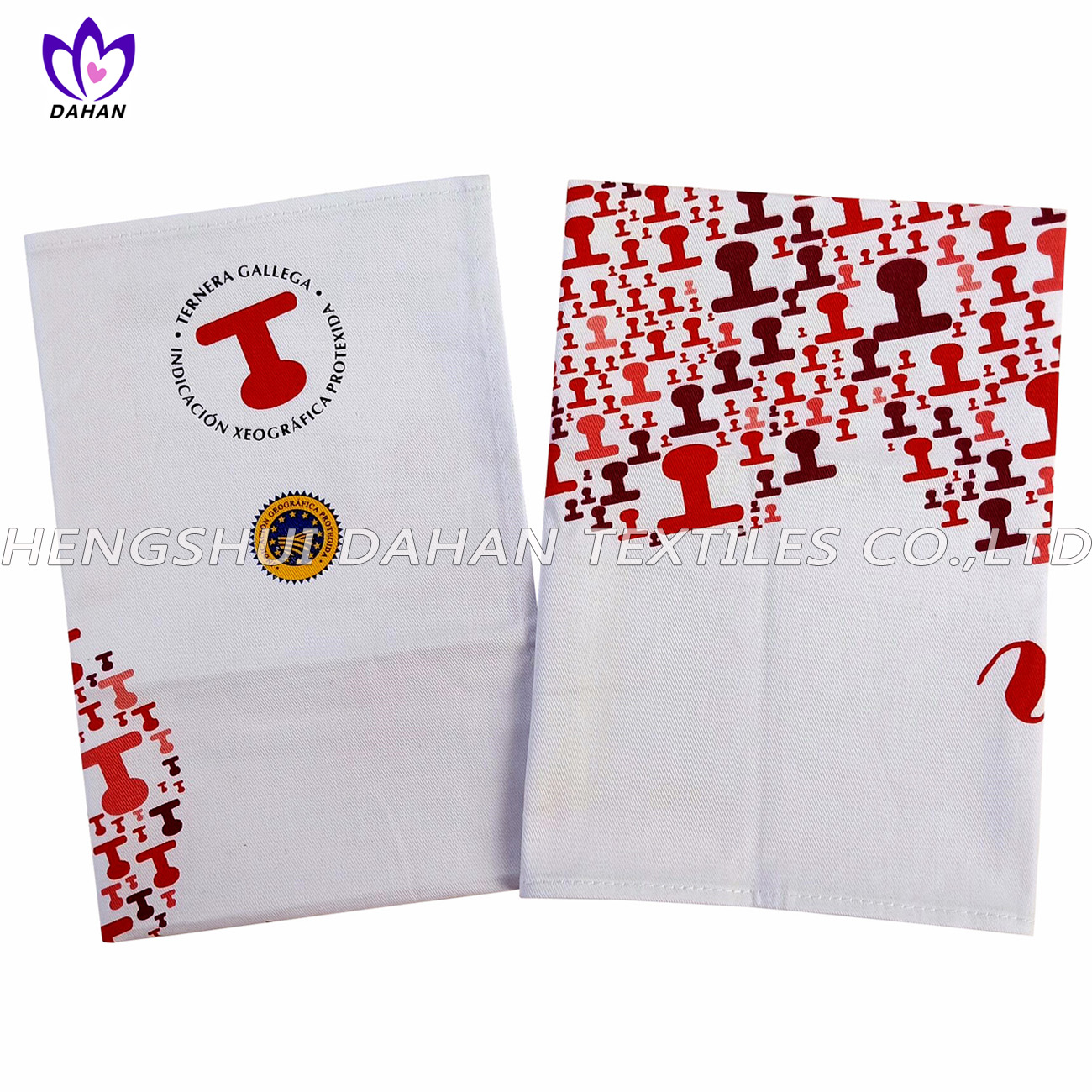 PR32 100%cotton printing tea towel,kitchen towel.