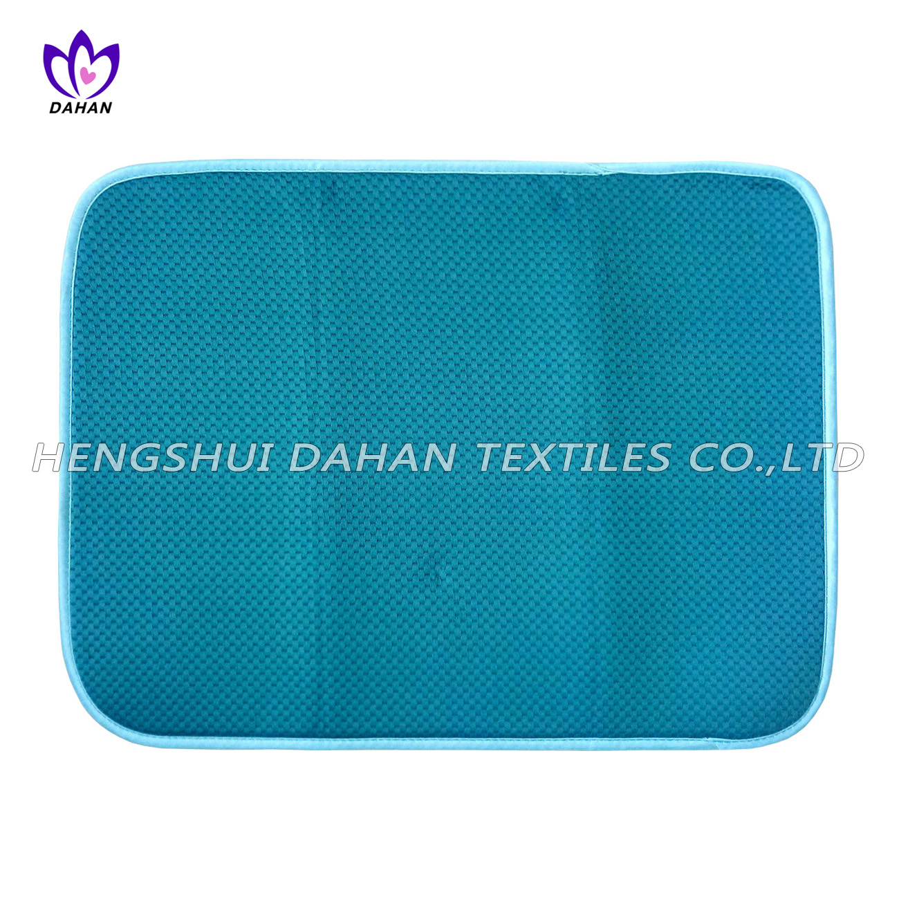 17214 100%polyester plain colour dish drying mat.