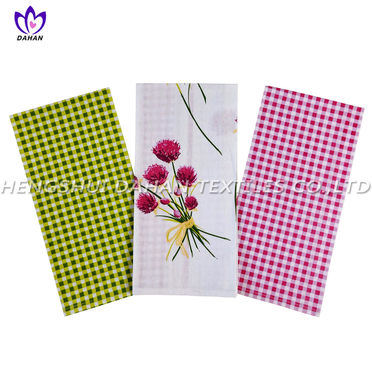 PR14 100%cotton printing tea towel,kitchen towel.