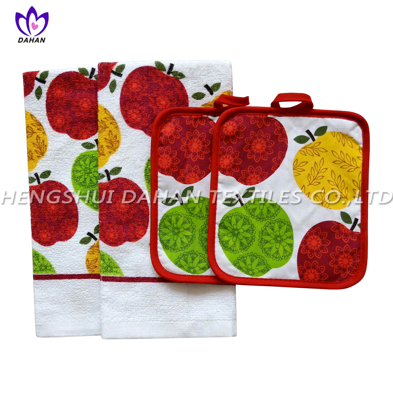 354VW printing pot pad,cotton towel 4pack
