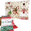 CT30 Christmas printing cotton towel