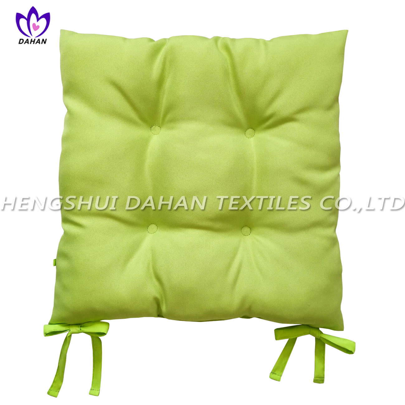 BC11 100%polyester plain colour oxford cloth chair cushion.