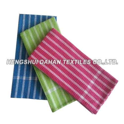100%cotton yarn dyed waffle tea towel kitchen towel DKIT0603