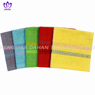 422CR 100%cotton plain colour kitchen towel.