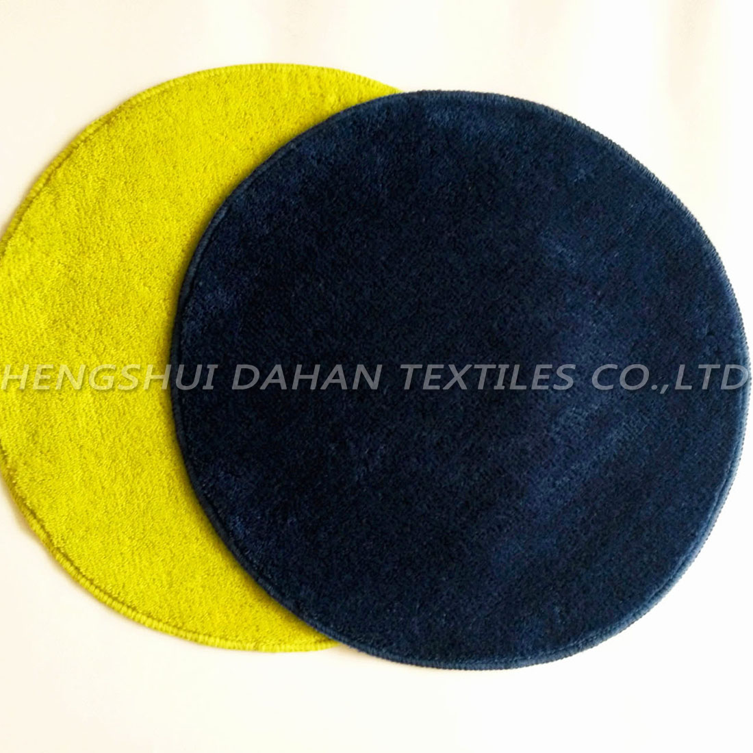 Plain colour ground mat-roundness. FC-201
