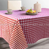TP05~08 polycotton yarn dyed grid table cloth.