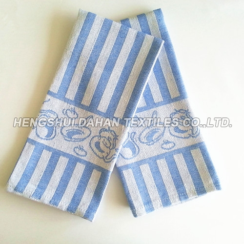 100%cotton jacquard tea towel ,kitchen towel JA03