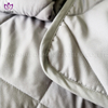 BK40 Solid color quited polyester quilt.