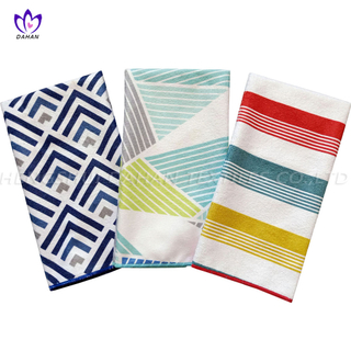 MC3PK Printing microfiber kitchen towels.