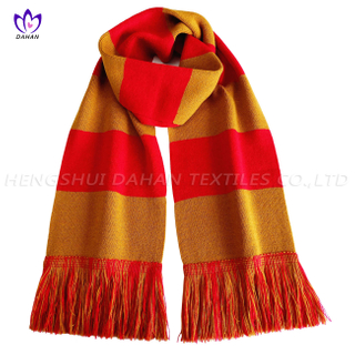 BK31 Yarn-dyed acrylic fibers sports scarf.